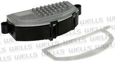 HVAC Blower Motor Resistor WVE BY NTK 4P1810