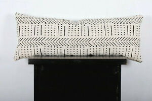 Hand Block Print Bolster Pillow Cover Handloom Pillow Cover Mudcloth Pillow Case