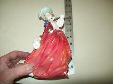 "7 1/2"" Autumn Breezes Rd. No. 835666 Royal Doulton Bone China Figurine England"