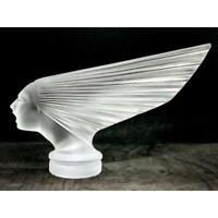 Rene Lalique Car Mascot Victoire Goddess of Victory Replica 17x24x6.5cm A88