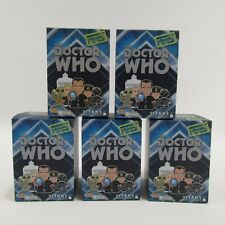 Doctor Who 9th Dr Titans Vinyl Figures NEW Lot of 5 Sealed Blind Box Packs Boxes