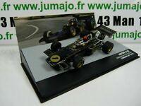 SEN25T voiture eaglemoss 1/43 F1 BRESIL Formule 1 LOTUS 72E E.Fittipaldi 1973 #1