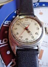 Rare Vintage Helvetia Waterproof 17 jewels cal' 820 C 30 mm English case running