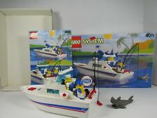 VINTAGE 1991 LEGO #4011 CABIN CRUISER 100% COMPLETE W. ORINGL BX INNER BX INSTRC