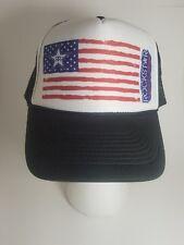 Rockstar Energy Drink Mesh Trucker Snapback Baseball Cap American USA Flag Hat