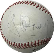 John McEnroe Signed Official NL Baseball Auto COA