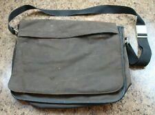Gap - Messenger Bag - Brown Canvas - Multi Compartment