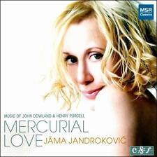 Jama Jandrokovic : Mercurial Love: Music of John Dowland & CD