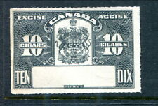 Canada 10 Cigars Excise Proof / SPECIMEN - No Control #  (Lot #RP22)