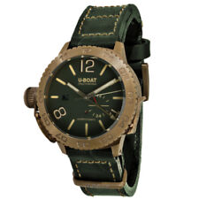 U-Boat Classico Doppiotempo 46 Bronzo Bronze & Green Dial Automatic Wristwatch