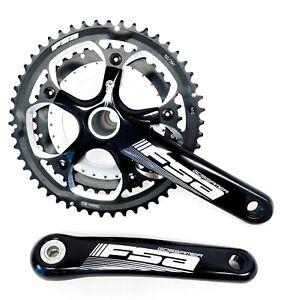 FSA Gossamer Compact Road Bike Triple Crankset 170mm 50-39-30t 10-11s + BB30