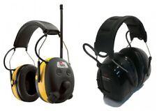 (2) Pair PELTOR WORKTUNES Digital AM FM MP3 Radio HEADPHONES Hearing PROTECTION