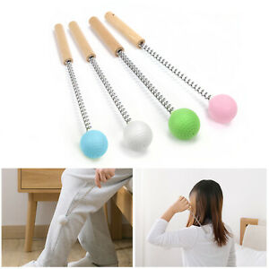 White/Pink/Blue Portable Hammer Massage Stick Manual Beat Golf Ball Massager
