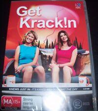 Get Krack!n / Krackin (Kate McLennan &Kate McCartney)  (Aust Reg 4) DVD – New