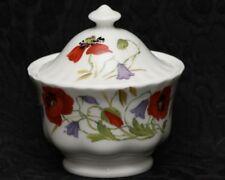 ROY KIRKHAM ENGLISH MEADOW Fine Bone China Small Covered Sugar Bowl #2