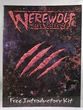 Werewolf: The Apocalypse Introductory Kit (booklet only) Moore, James A; Diterli