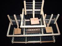 Per Uccelli : : Trappola gabbia con 3 Trappola per uccelli