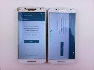 *Google Locked* (2x) Motorola Droid Maxx 2 (XT1565) 16GB (Verizon) Cracked (2x)
