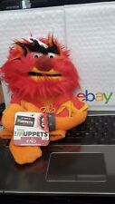 """The Muppets ANIMAL Hand Puppet FAO SCHWARZ EXCLUSIVE MOST WANTED 11"""" EUC Disney"""
