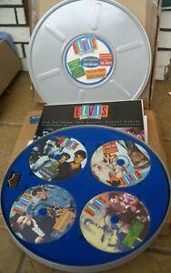 Presley, Elvis DOUBLE FEATURES Filmdose 4 CD, Heft, Fotos, Pin, Zertifikat, RAR
