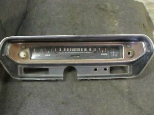 Speedometer 120 MPH 2985402 Has Crack Left Fits 71-74 CHARGER 285423