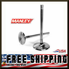 Manley SBC Chevy 2.125 Stainless Race Flo Intake Valves 5.140 x .3415 11776-8