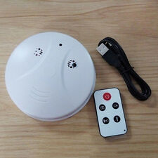 Spy Gadget Smoke Detector Wall Ceiling Alarm Hidden Video Camera Audio Recorder