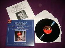 3 LP BOX MOZART / DON GIOVANNI / SIEPI - FURTWANGLER / HMV 153 EX 290667 3 MONO