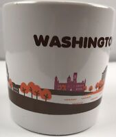 Dunkin Donuts Washington DC Coffee Mug 2013 Edition Monuments Cherry Blossoms