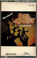 Bob Marley & the Wailers - Blackout  RARE OOP ORIG Paper Labels Cassette (Mint!)