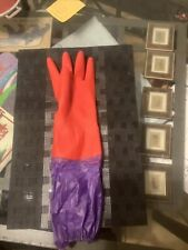 Left Hand Only Aquarium Water Change Gloves Elbow Length Cleaning Long Cuff