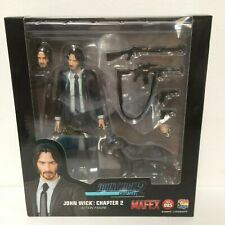 "**AUTHENTIC** MEDICOM TOY MAFEX No.085 Chapter 2 John Wick 6"" Figure - US SELLER"