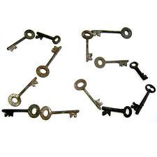 25 Vintage Skeleton Keys Old Rusty Iron Antique Keys Random Picks from Large Lot