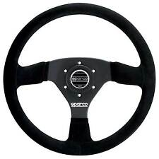 SPARCO 333 Race / Rally / Berlina VOLANTE-Neri in Pelle Scamosciata-DIAMETRO 330MM