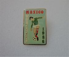 1986 MEXICO  WORLD CUP  BADGE PIN