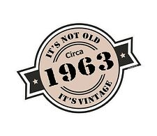 Non è vecchio intorno al 1963 ROSETTA Emblema PER CASCO DA MOTO AUTO ADESIVO VINILE