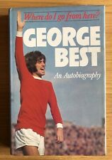 GEORGE BEST Manchester United Football Hand Signed Autograph Book