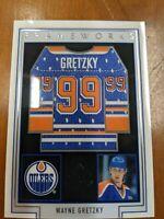 2019-20 Upper Deck SP Game Used Frameworks Wayne Gretzky #FW-WG HOF Edmonton