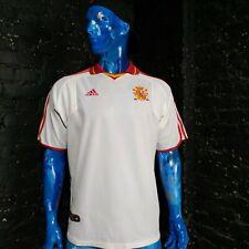 Spain Jersey Third football Form 2000 - 2002 White Trikot Adidas Mens Size L