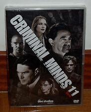 MENTES CRIMINALES 11ª TEMPORADA COMPLETA 5 DVD NUEVO CASTELLANO (SIN ABRIR) R2