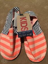 Cotton On Girls Espadrilles Shoes Size 13 Brand New With Tags
