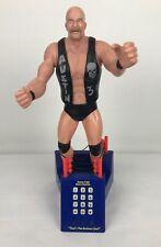 WWF Stone Cold Steve Austin Vintage Phone Statue Figure Wwe Toy 1999