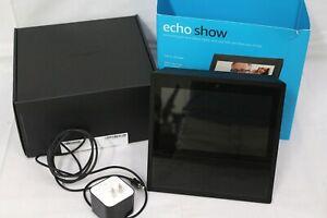 Amazon Alexa  Echo Show 1st Gen MW46WB Smart Assistant Black Tested
