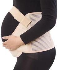 UK Maternity Belt White/Beige Pregnant Women Waist Support Prenatal Belly Band