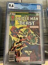 Marvel Team-Up #124 CGC 9.6 Canadian Newsstand Price Variant Rare 1982