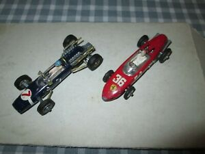 CORGI COOPER-MASERATI &  FERRARI F1 RACING CAR -UNBOXED