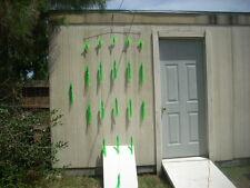 "14 Green 12"" Squid Splash Spreader Bar W/ Stinger and Bag CanyonTuna &Billfish"