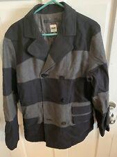 Volcom Workwear Black And Grey Coat Medium Mens