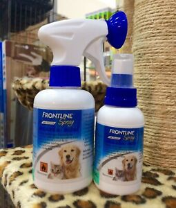 Frontline Spray Flea and Tick Treatment For Dogs and Cats 100 & 250ml By Merial