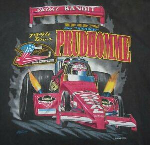 """1994 Skoal Bandit DON """"The Snake"""" PRUDHOMME Final Strike (MED) T-Shirt FUNNY CAR"""